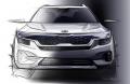 У мережі з'явились дизайнерські замальовки нового кросовера Kia